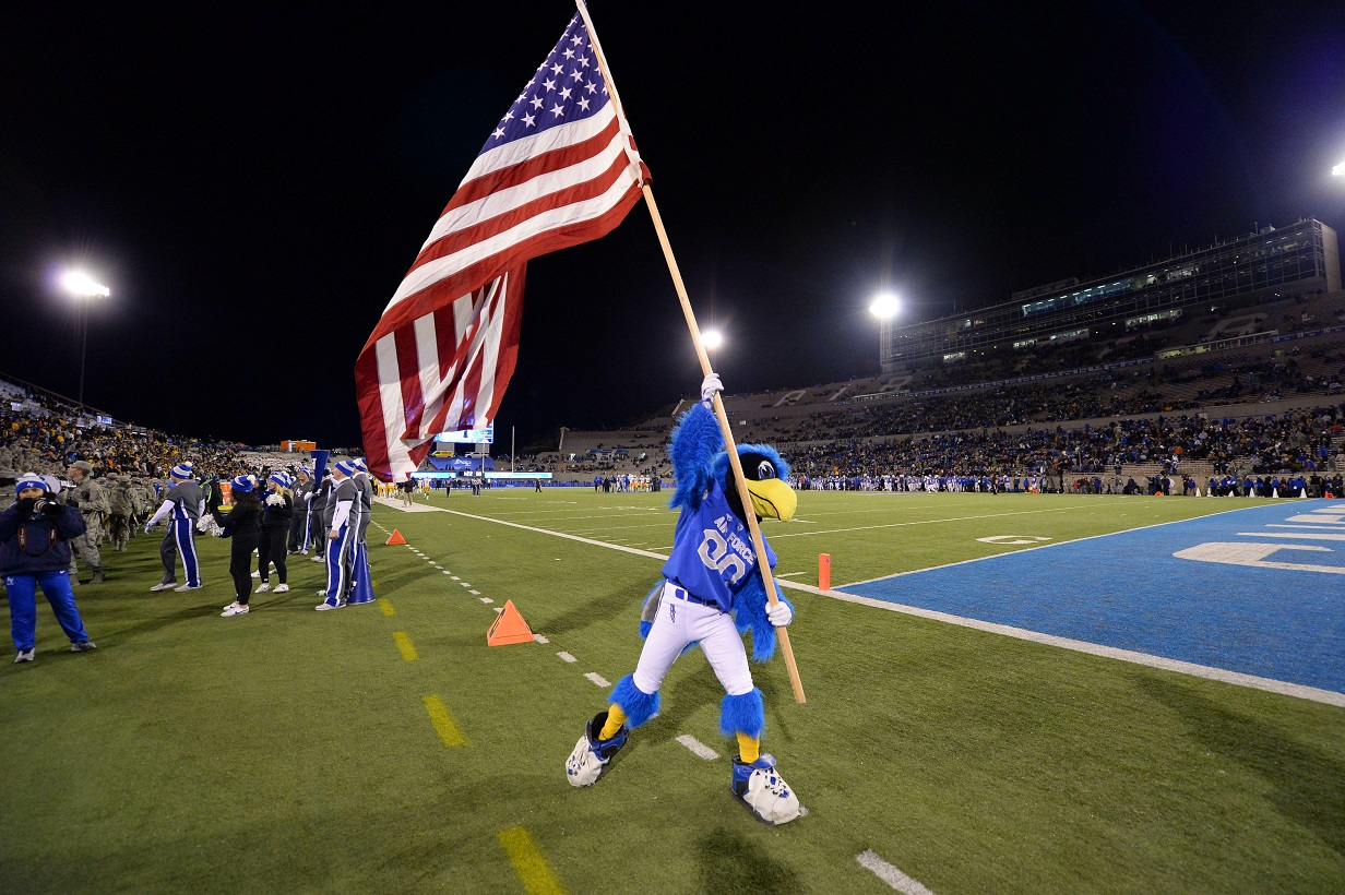 2020 Air Force Football Schedule First Look Predictions Mountain West Wire