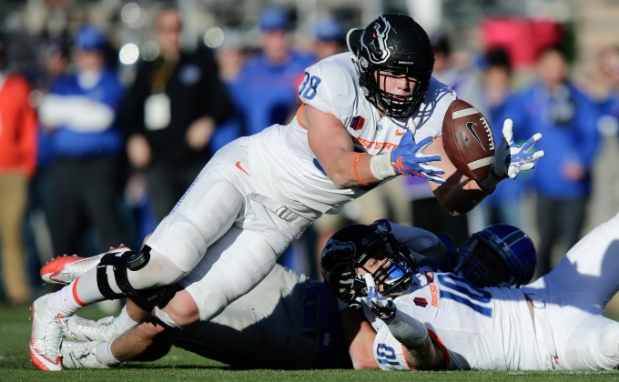 2018 NFL Draft: Boise State LB Leighton Vander Esch Selected 19th By Dallas Cowboys