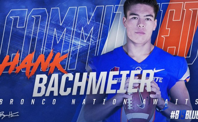 Boise State Lands Commitment From Four-Star QB Hank Bachmeier