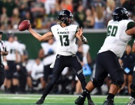 Hawaii's Cole McDonald Played With A Very Uncomfortable Injury