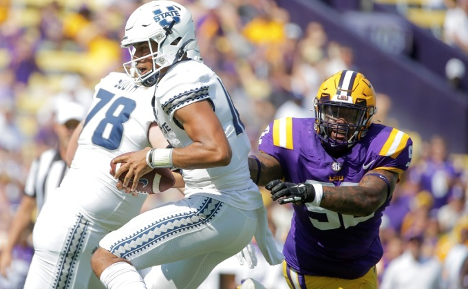 Utah State vs. LSU Recap: A By-The-Numbers Look At LSU's Dominance