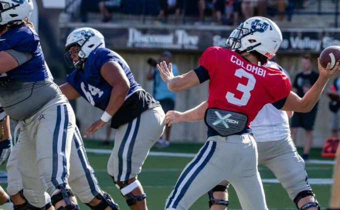 Utah State QB Henry Colombi Will Most Likely Start Against Boise State