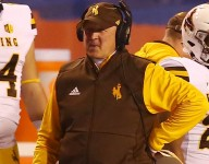Wyoming's Four Turnovers Lead to 26-21 Defeat vs. Utah State