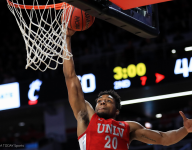 UNLV needs late surge to survive Wyoming upset bid