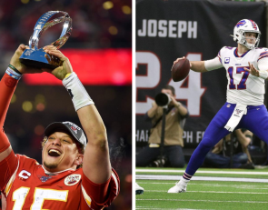 Former Wyoming QB Josh Allen to face NFL MVP Patrick Mahomes in throwing contest
