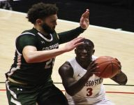 Colorado State Rams Put Away New Mexico Lobos, 87-73 Behind Roddy's Near Triple Double