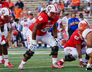 2021 NFL Draft Profile: New Mexico OL Teton Saltes