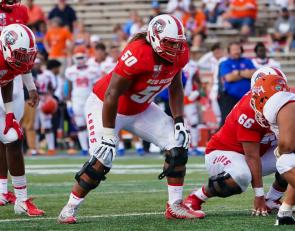 2021 NFL Draft Profile: New Mexico OL Teton Saltes