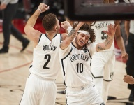 Tyler Johnson played his role with the Brooklyn Nets