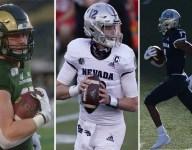 2022 NFL Draft: Trey McBride, Carson Strong, Romeo Doubs Among McShay's Top 50 Preseason Prospects