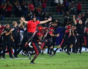 San Diego State Recap: Aztecs Crawl Back to Win in 3OT, Beat Utah Utes 33-31